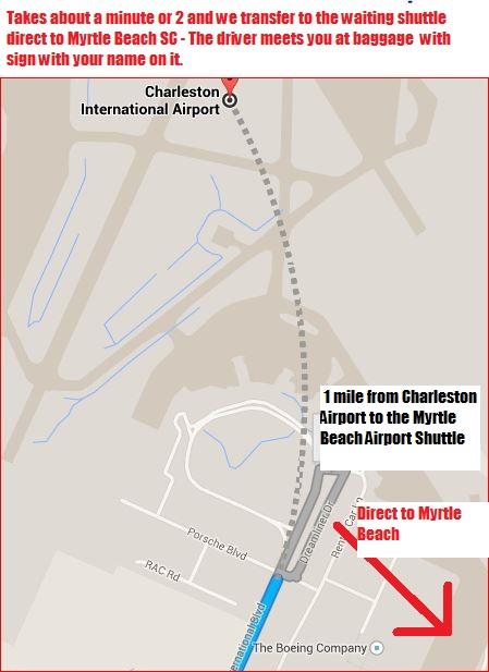 Myr shuttle to myrtle beach Cha - Myrtle Beach Airport ...