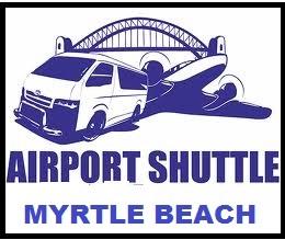 LOGO MYRTLE BEACH AIRPORT SHUTTLE